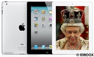 ipad2_tablette_Reine_Angleterre_IDBOOX