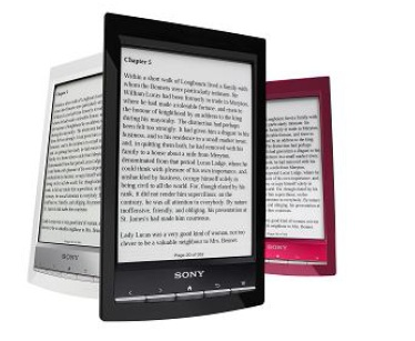 Sony Reader PRS T1 ebooks - IDBOOX
