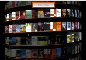Google WebGL Bookcase Ebooks IDBOOX