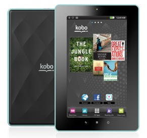 Kobo Vox eReader, la tablette axée sur la lecture sociale (vidéo)