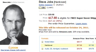 Steve Jobs ebook Amazon IDBOOX