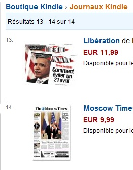 journaux Kindle Amazon IDBOOX