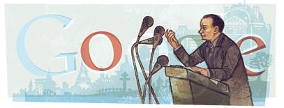 Google Doodle Andre Malraux ebooks IDBOOX