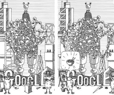 Google Doodle Stanislaw Lem IDBOOX
