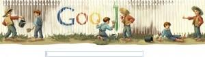Mark Twain Doodle Google  Ebooks IDBOOX