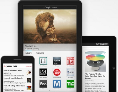 google currents Presse tablettes IDBOOX