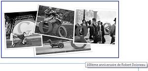 Doodle Google Doisneau IDBOOX