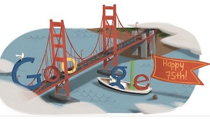 Golden gate bridge Google Doodle IDBOOX
