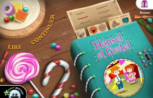 Hansel et Gretel iPad Ebook IDBOOX