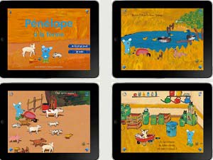 Penelope a la ferme gallimard jeunesse iPad Ebooks IDBOOX