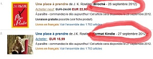 Amazon une place a prendre Ebooks IDBOOX