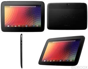 Nexus 10 HTC IDBOOX