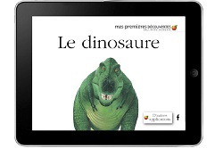 Le dinosaure Gallimard J Applications Enfants  IDBOOX