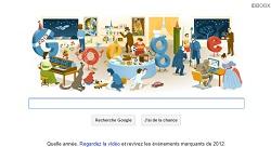 Google Doodle reveillon 2012 IDBOOX