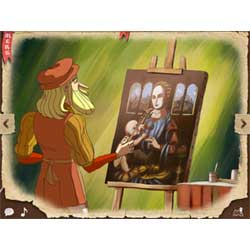 Leonard-de-Vinci-appli-enfant-iPad-IDBOOX