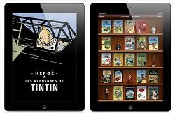 Les aventures de Tintin iPad Ebooks IDBOOX