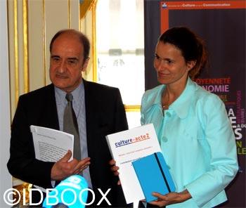 Aurélie Filippetti IDBOOX
