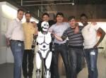Robot Aria labo BNF IDBOOX