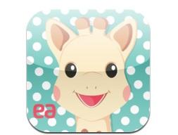 Sophie la girafe iPad Appli enfants IDBOOX