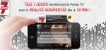 tele 7 jours realite augmentee Presse IDBOOX