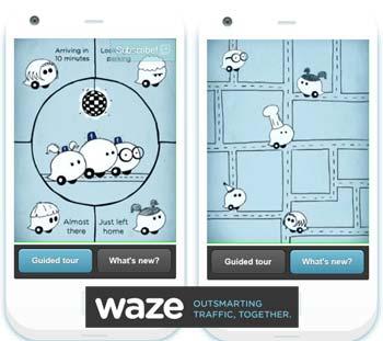 how to start waze trip