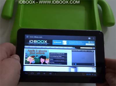 tablette enfant SlidePad Kids IDBOOX
