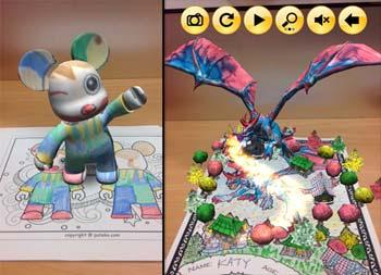Coloriage Pour Enfants En Réalité Augmentée Vidéo Idboox