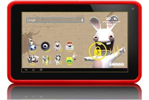 Cooltab la tablette lapins cr tins pour enfants idboox - Housse de couette lapin cretin ...