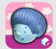 bernard bleu square igloo appli enfant IDBOOX