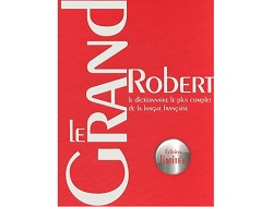 le grand robert edition limitee