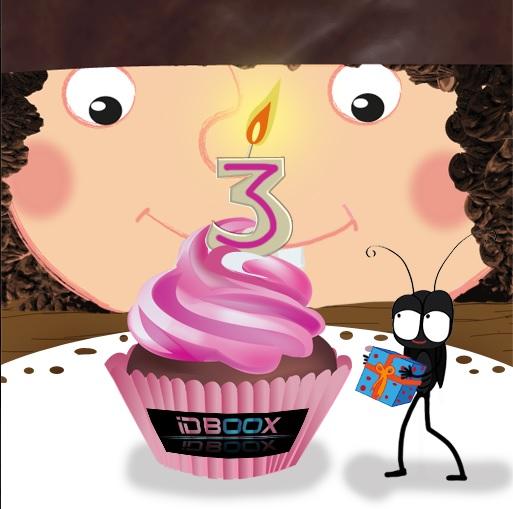 slimcricket anniversaire IDBOOX
