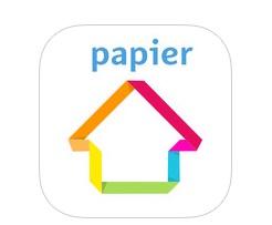 decoration en papier citronours appli iPAD IDBOOX