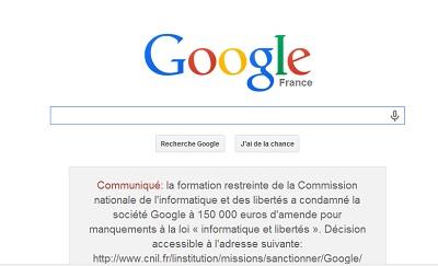 Google sanction amende CNIL IDBOOX