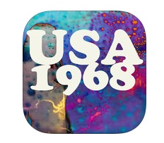 USA 1968 Jean-Jacques Birge Ebooks Appli iPad IDBOOX
