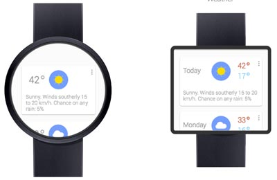 Asus smartwatch Android Wear