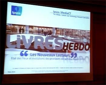 Livres hebdo Ipsos etude lecture IDBOOX