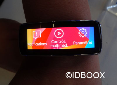 Samsung Gear Fit compatibilité