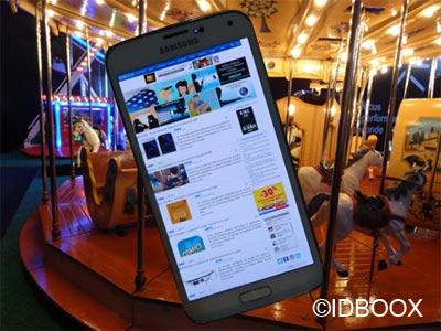 Samsung Galaxy S6 dévoilé CES 2015