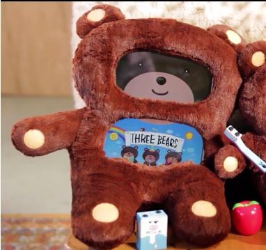 didi bear ours ipad crowdfunding IDBOOX