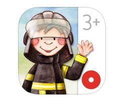 livre interactif pompier police ebook enfants IDBOOX
