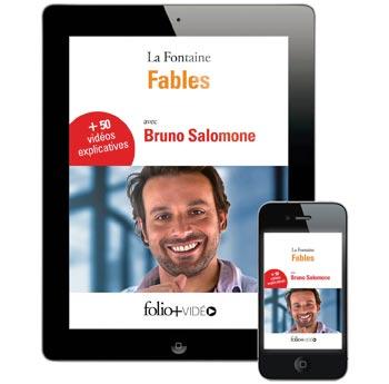 Fables-La-Fontaine Folio + Vidéo Gallimard