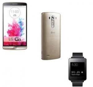 LG3 smartphone + LG G watch promo IDBOOX