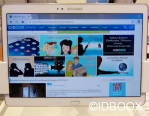 Samsung Galaxy Tab S pub contre iPad