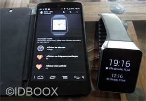 Android-Wear GPS et Bluetooth
