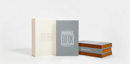 The drinkable book livre buvable ONG IDBOOX