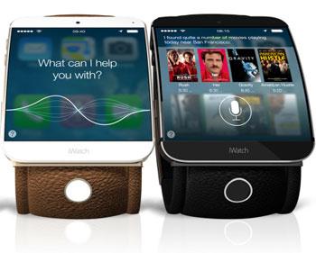 iWatch écran flexible et NFC