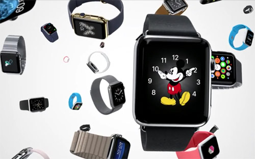 Apple Watch sortie en avril