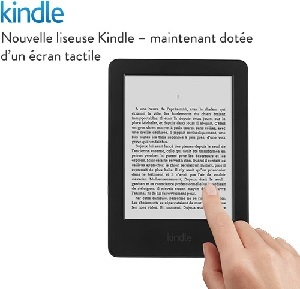 Kindle tactile Amazon ebook IDBOOX