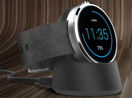 Moto 360 smartwatch Promo