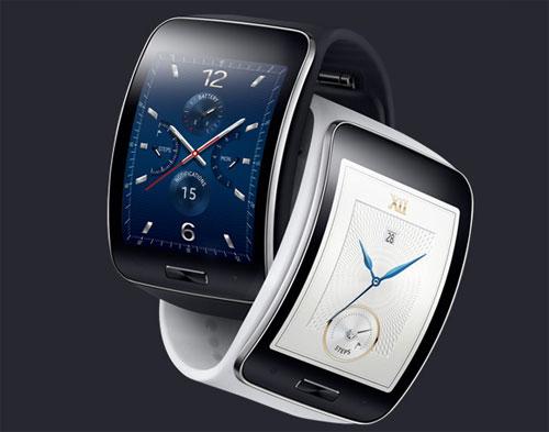 Samsung smartwatch avec lecteur d'empreintes
